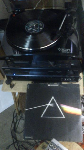 Photographie vinyle Dark Side Of The Moon